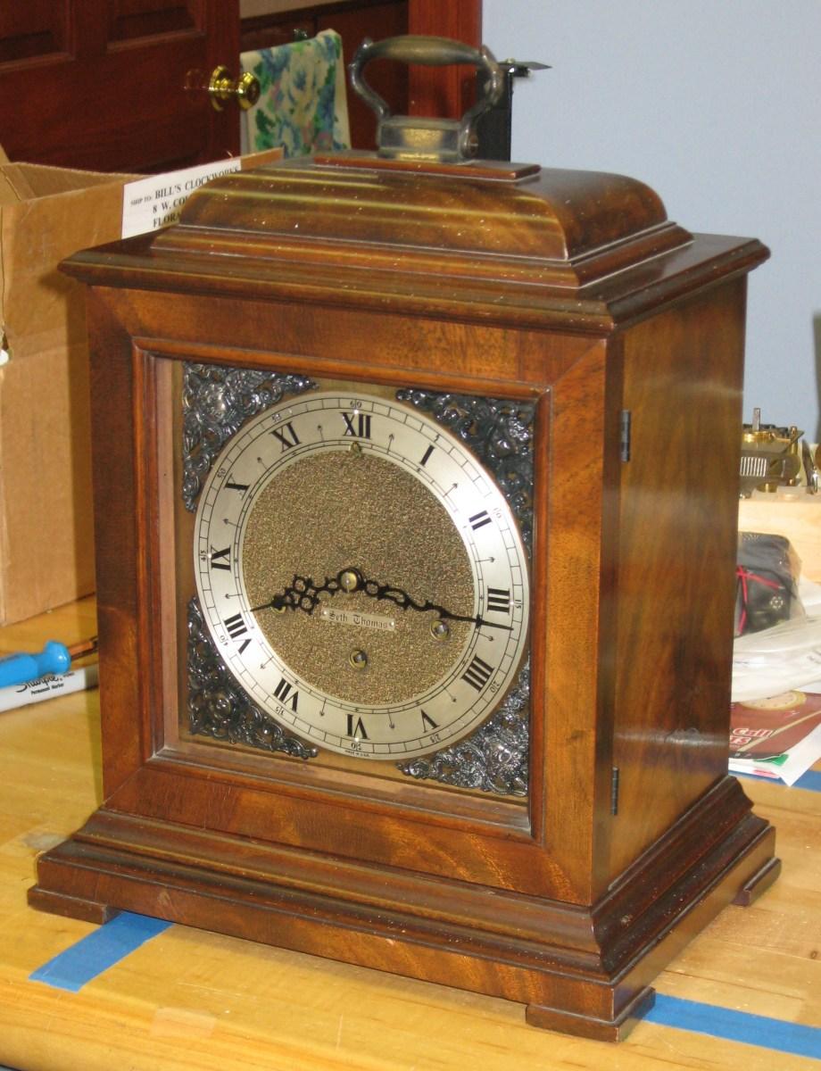 Seth Thomas Legacy - 2W Mantel Clock with No. 124 Movement