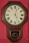 Seth Thomas rosewood drop octagon clock