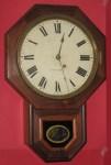 Seth Thomas rosewood drop octagon clock