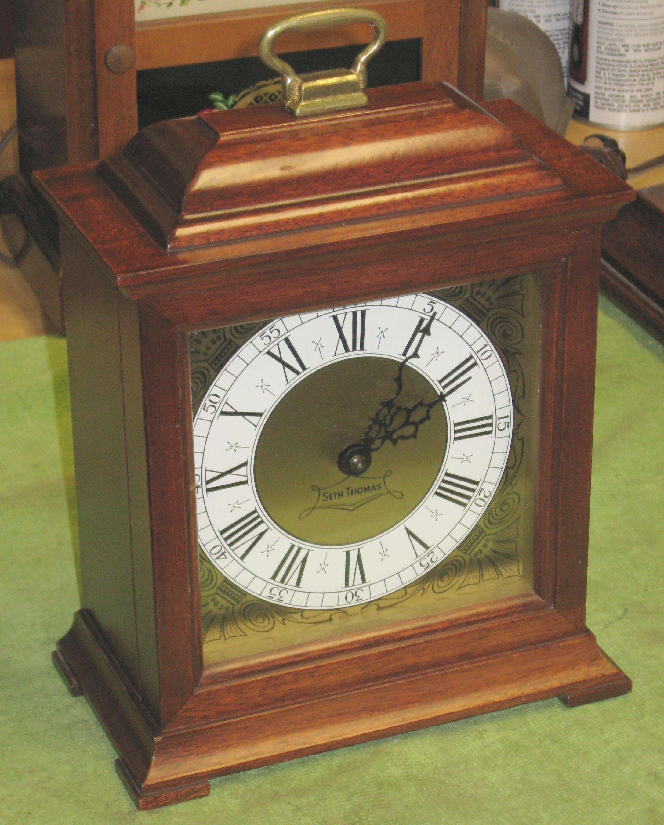Late Model Seth Thomas Electric Striking Clock Exeter E