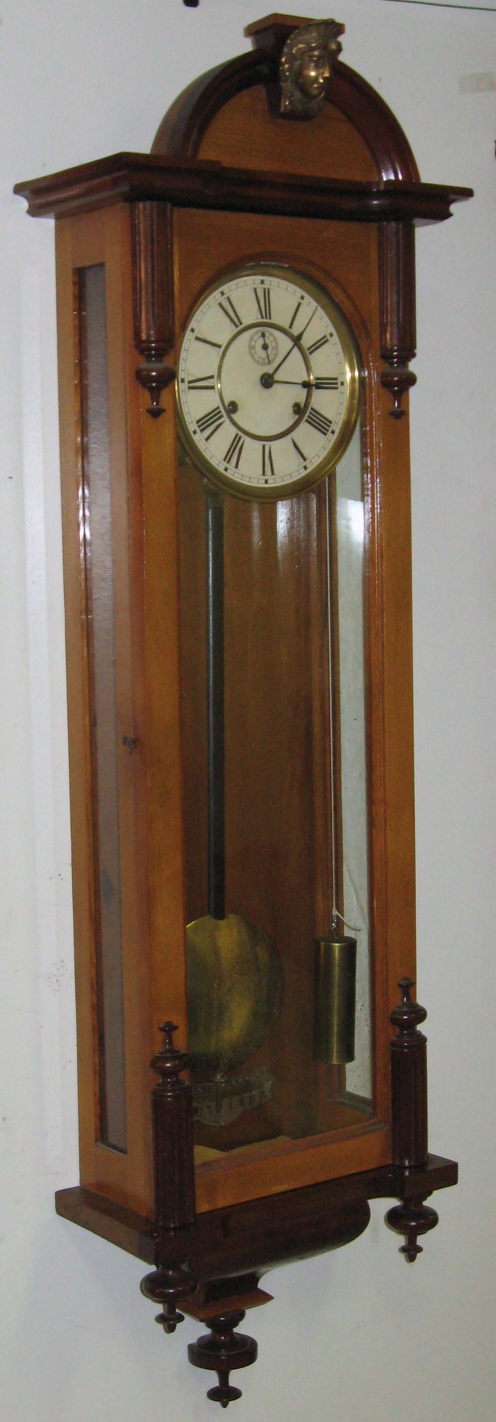Ansonia Capitol Weight Driven Wall Clock Clockinfo Com