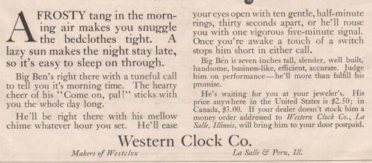 October 23, 1915 Saturday Evening Post