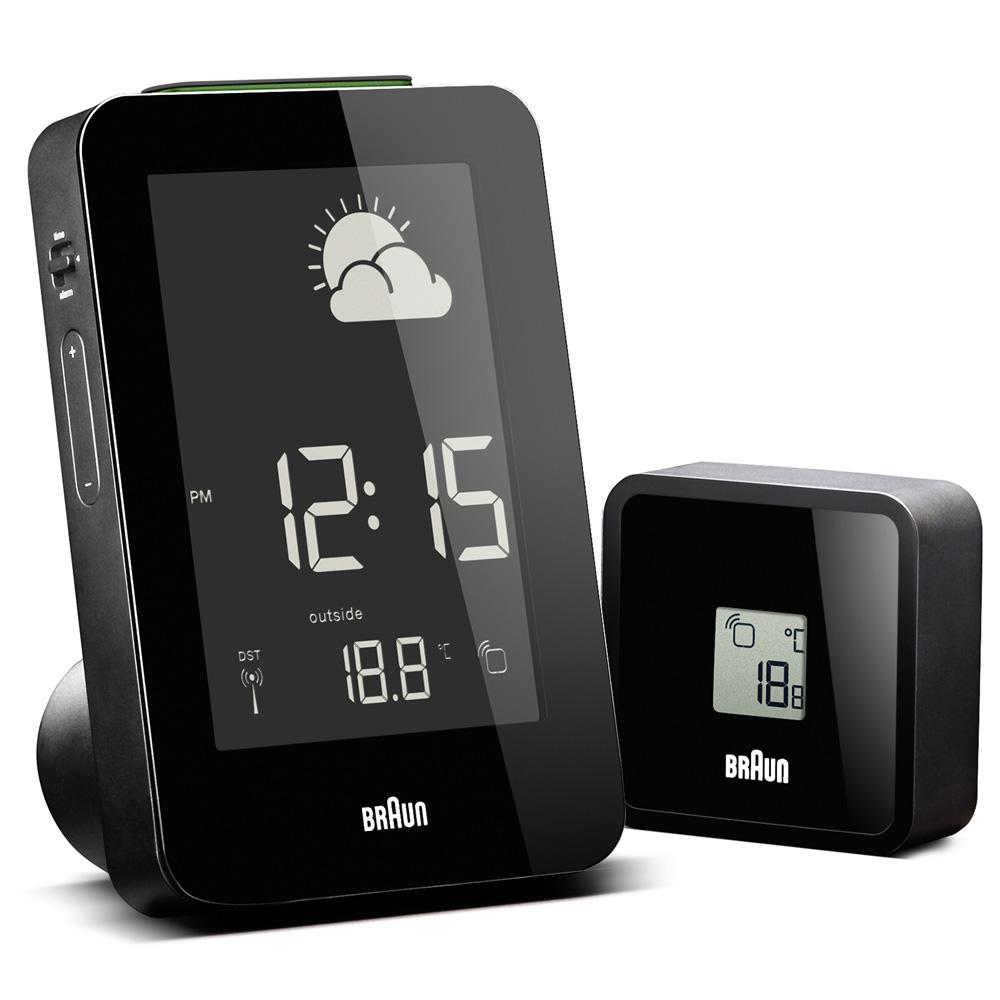 3m Indoor Outdoor Temperature Clock