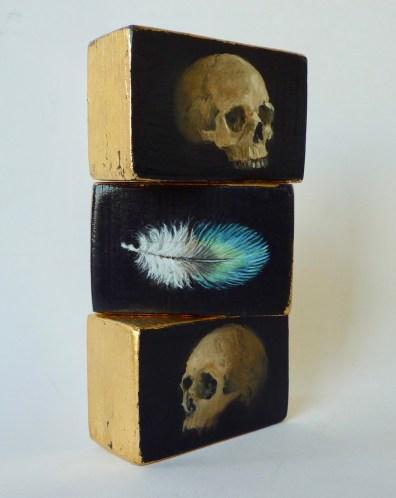 Skull Feather Skull