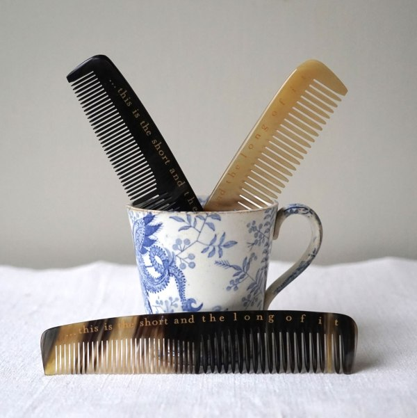 Combs & Blue Cup