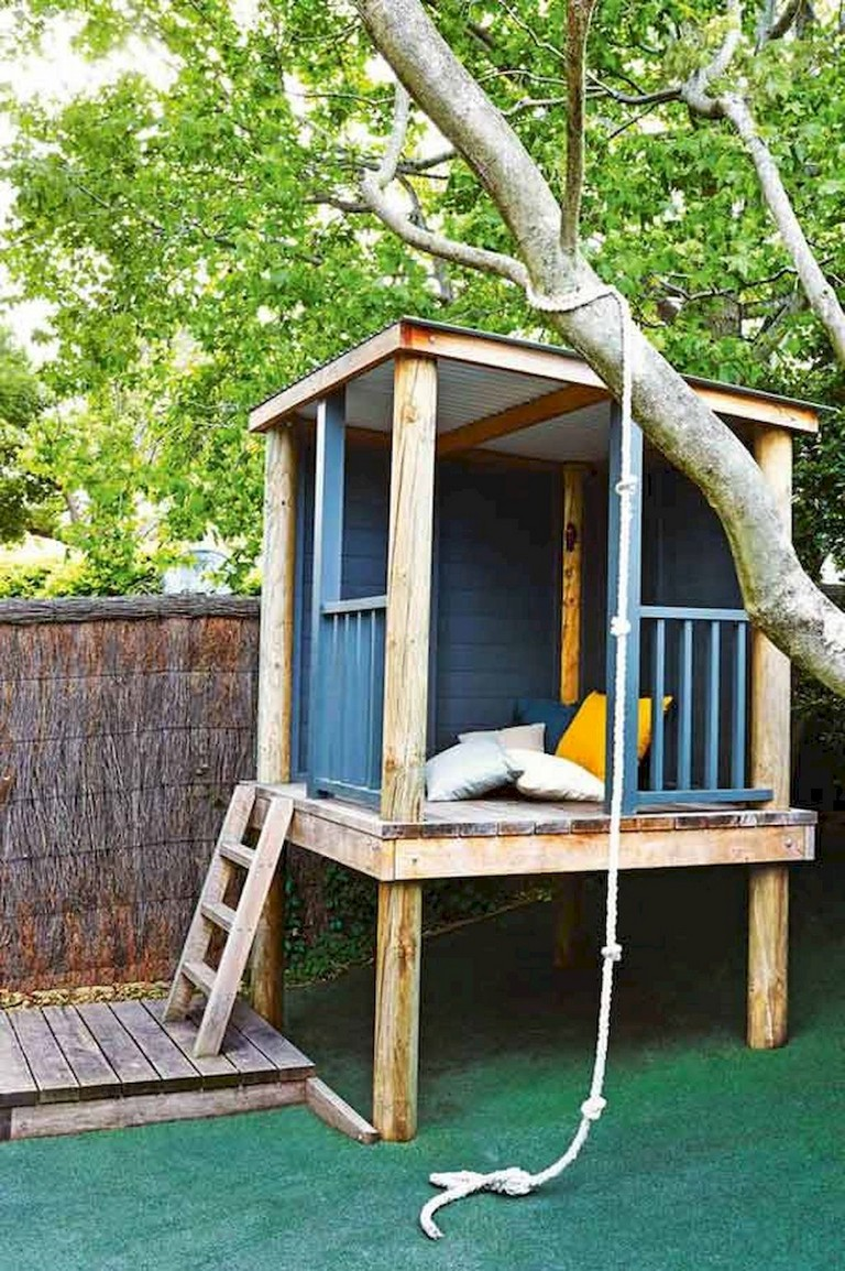 40+ Remarkable Magical Playhouse Kids for Backyard Ideas ... on Magical Backyard Ideas id=66431