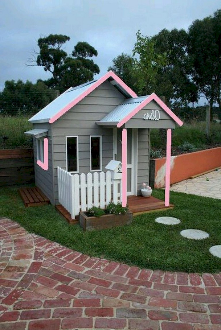 40+ Remarkable Magical Playhouse Kids for Backyard Ideas on Magical Backyard Ideas id=59210