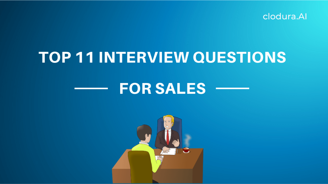 Top 11 Interview Questions for Sales