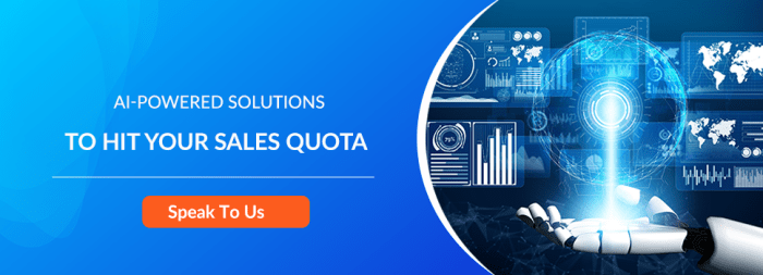 AI-POWERED SOLUTIONS TO HIT YOUR SALES QUOTA