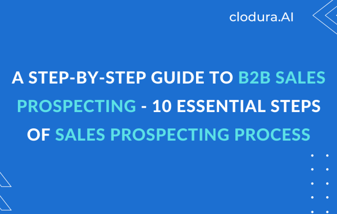 sales prospecting process