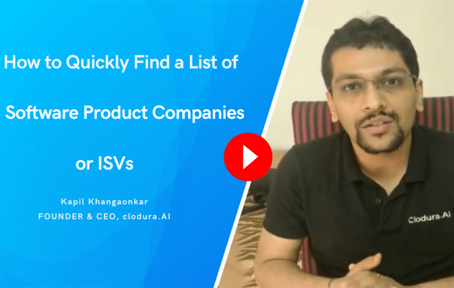 How to Quickly Find a List of Software Product or SaaS Companies