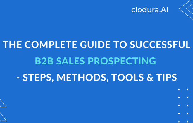 Complete Guide to Successful B2B Sales Prospecting