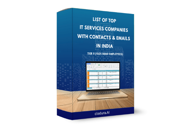 List of Top IT Services Companies With Contacts & Emails in India