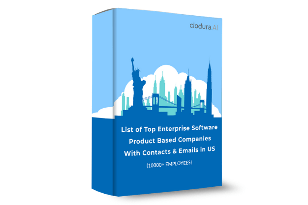 List of Top Enterprise Software Product Based Companies With Contacts & Emails in the US