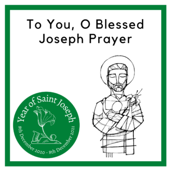 To You, O Blessed Joseph
