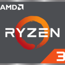 Logo de Ryzen 3