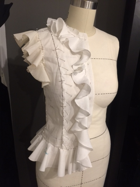 completed toile
