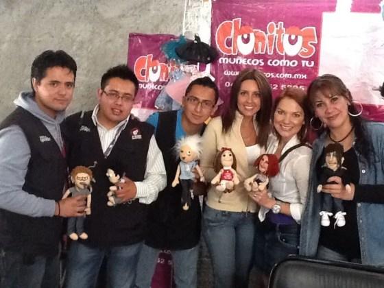 Clonitos equipo Tv Azteca