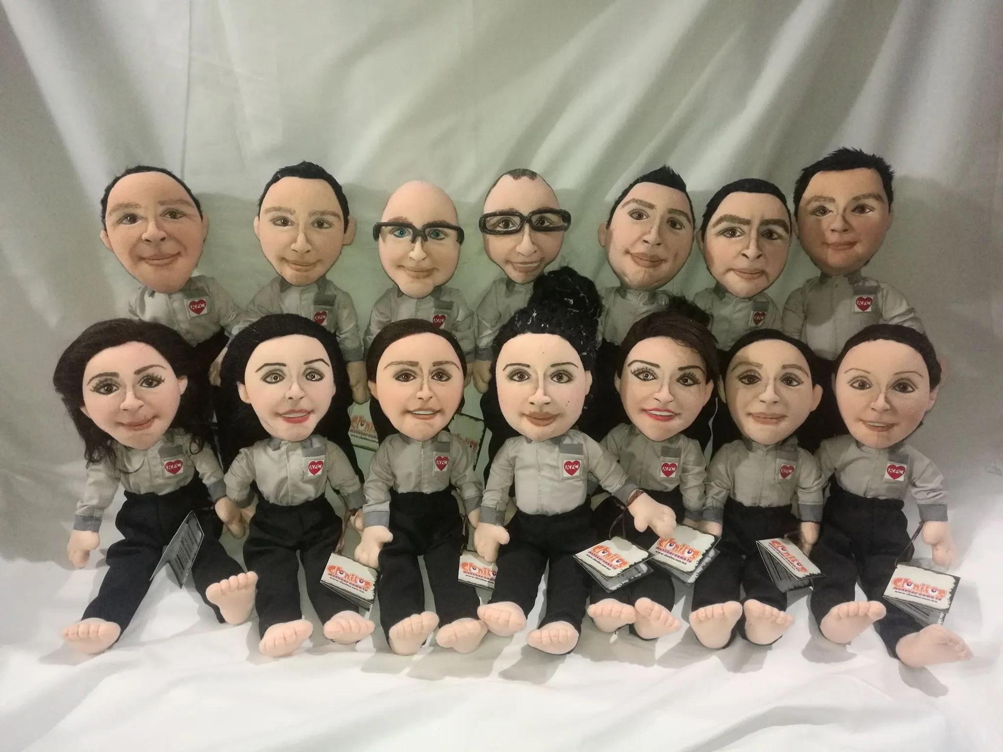 Muñecos Personalizados para Empresa