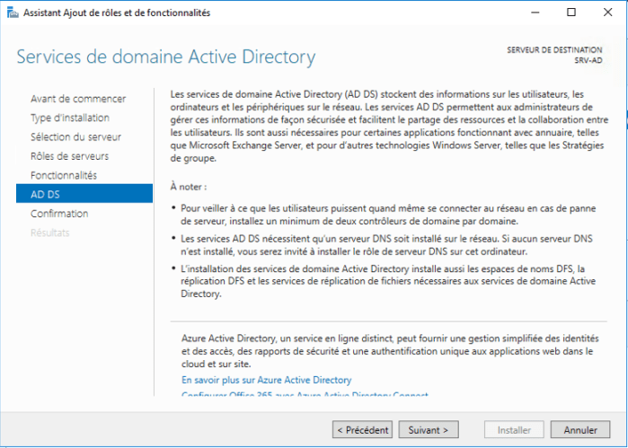 Installation Active Directory - 10