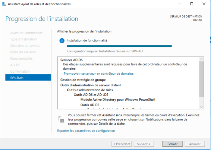 Installation Active Directory - 13