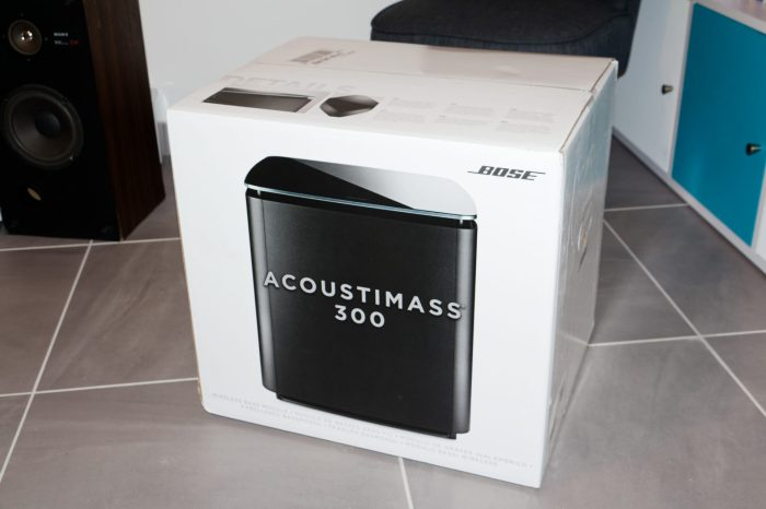 Déballage Bose Acoustimass 300