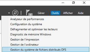 Gestion du système de fichiers distribués DFS