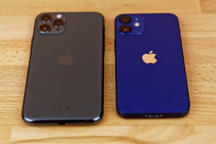 iPhone 11 Pro vs iPhone 12 mini