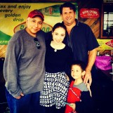 With Family down in San Antonio