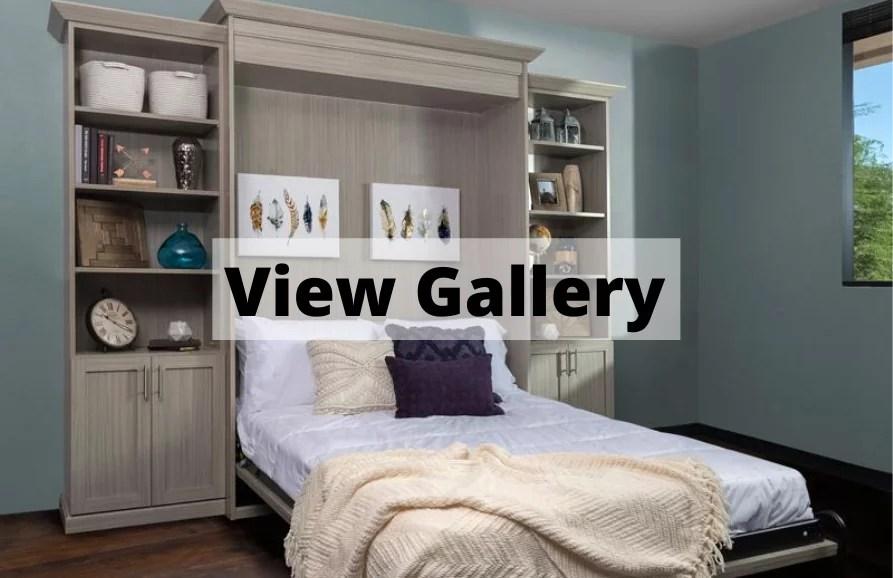 custom wall beds in atlanta closet