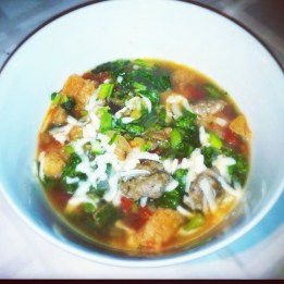 Calabrian Cooked Bread Soup