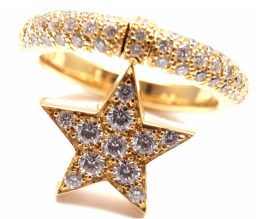 Chanel Comet Star Ring