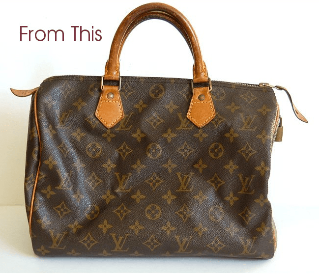 4613363ed How to Make That Louis Vuitton Look Brand New With Photos