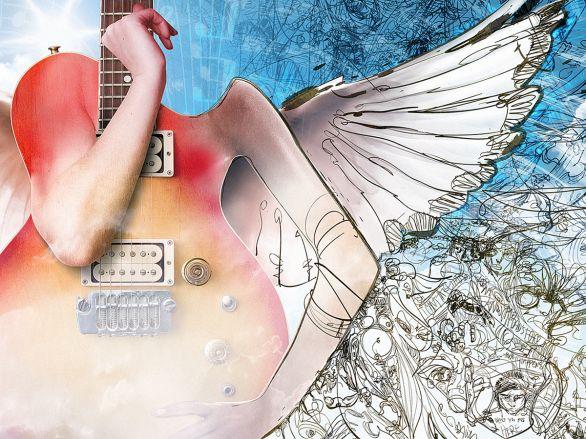 Photoshop, the Verb | Guitars and Gods – SATANFUDGE