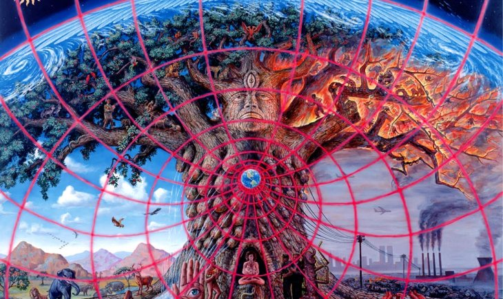 Gaia by Alex Gray [ainting of the psychedelic experience