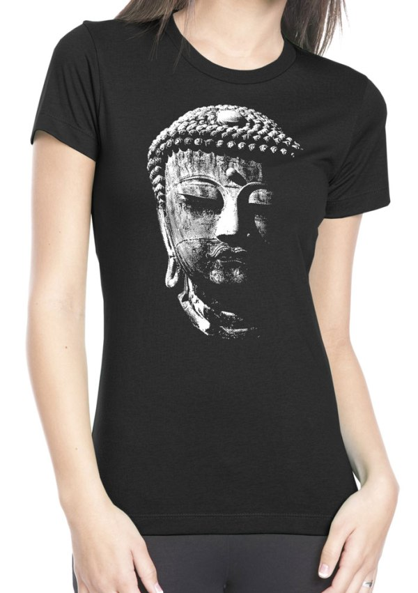 Buddha Women's T shirtspiritual meditation shirt by Closet of Mysteries