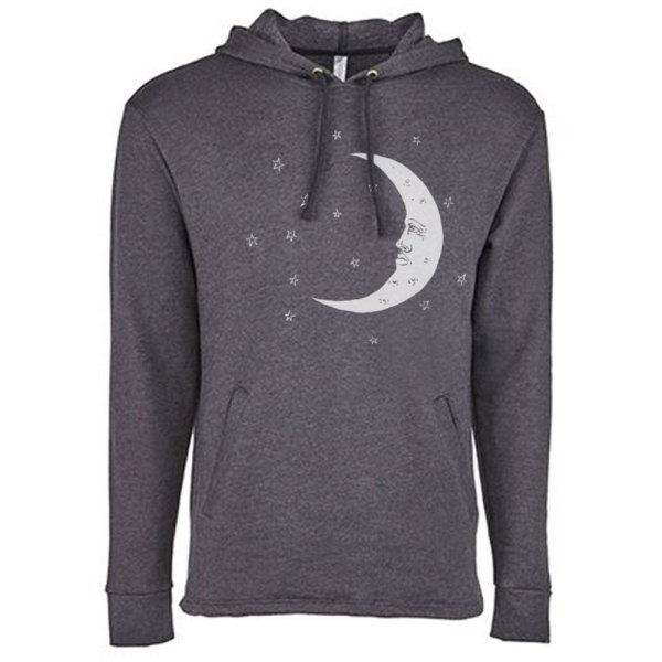 Moon Hoodie by Closet of Mysteries