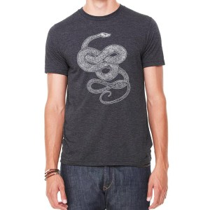 Knotted Snake Shirt by Closet of Mysteries