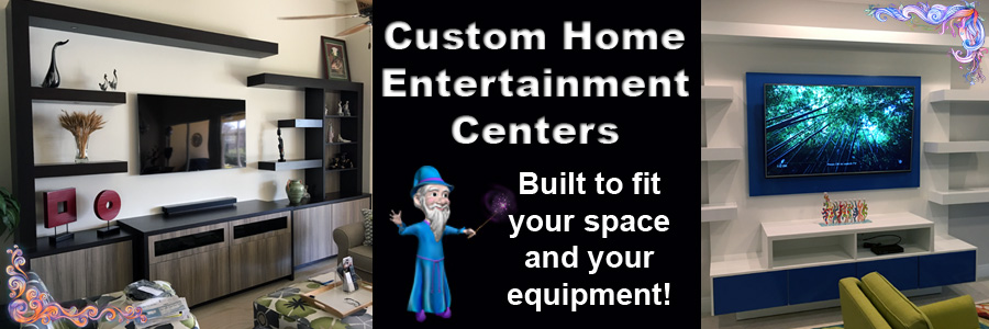 Custom Entertainment Centers, Wall Units - built to fit your needs ...
