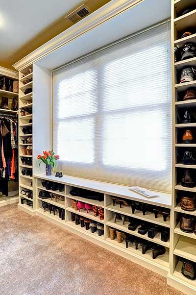 الترانزستور يولد انتظر دقيقة walk in wardrobe shoe rack