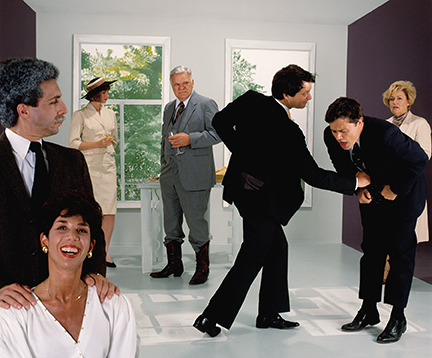 Palazzo Magnani Nic Nicosia, Violence, 1986, Courtesy the artist and Erin Cluley Gallery, Dallas, Texas, © Nic Nicosia
