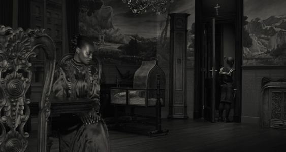 """Palazzo Magnani Erwin Olaf, The Mother, from the series """"Dusk"""", 2009,  Courtesy Collezione Soprani, Arese"""