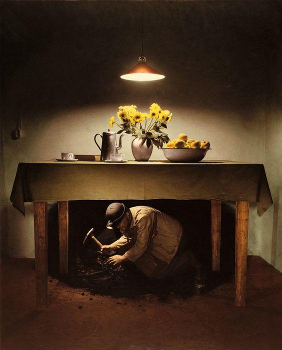 Palazzo Magnani Teun Hocks, Untitled n° 045 (Day and Night), 1986, Courtesy Paci contemporary gallery (Brescia-Porto Cervo, IT)