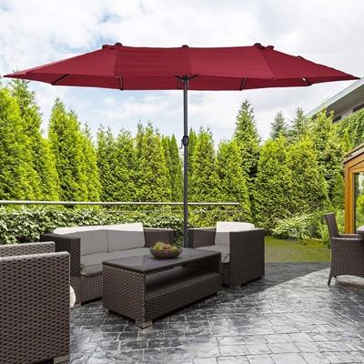 top 12 best rectangular patio umbrellas