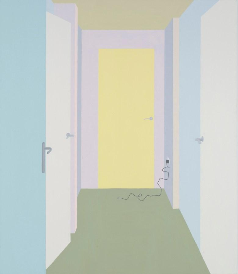6. Schweger, Zsofia-Bow #3-2017-acrylic on canvas-51x59in-130x150cm