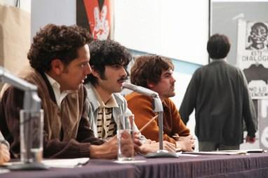 César Ramos, José Ángel Bichir e Iván Arana, en personaje.