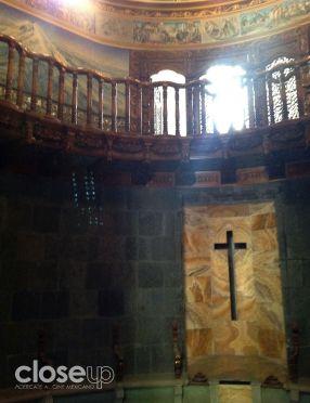 La capilla se aprovechó para crear la oficina de uno de los personajes (Foto: Close Up)
