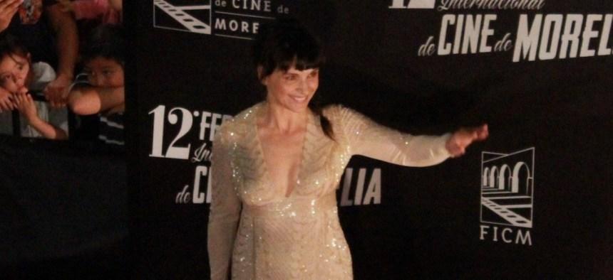 Juliette Binoche recibió la Medalla de Plata de Filmoteca
