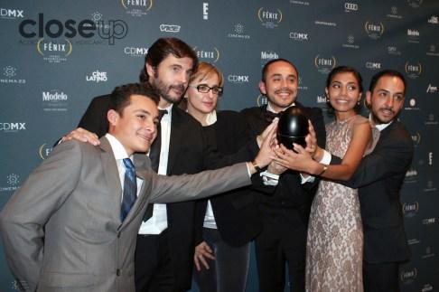 La jaula de oro se llevó el premio como Mejor película (Foto: Itzuri Sánchez Chávez)
