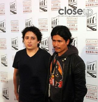 Su director Santiago Cendejas y Harold Torres (Foto: Itzuri Sánchez Chávez)